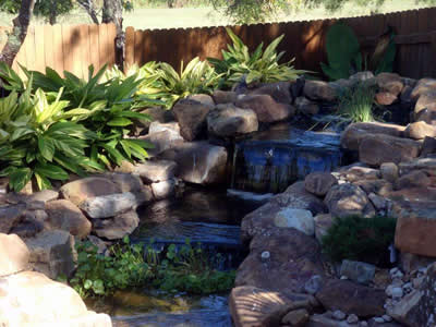 water features for landscapes in Austin TX